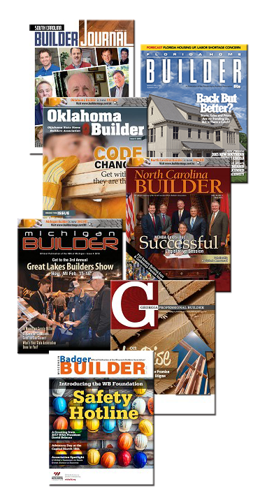 Builder Magazine Collage
